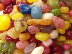 Crazy Jelly Beans, Fruit Flavoured Retro Sweets Gourmet Jellies