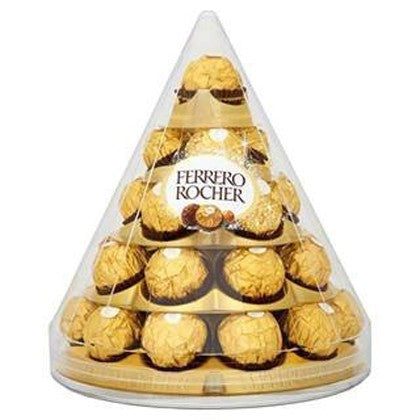 Ferrero Rocher 28 piece pyramid