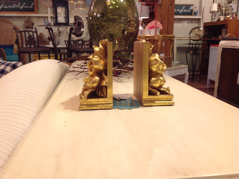Flower Bookends