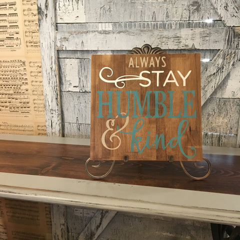 Always Stay sign