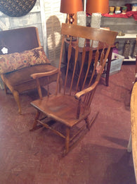 Nicholas Stone rocking chair