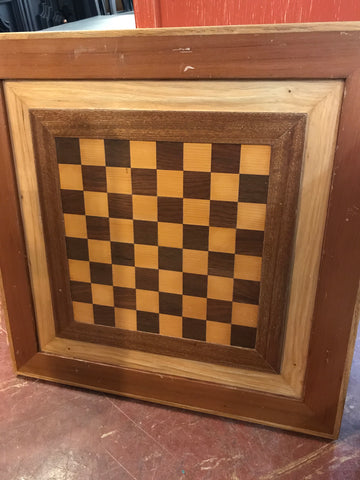 Handcrafted wooden game board