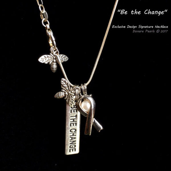 """Be the Change"" Signature Necklace"