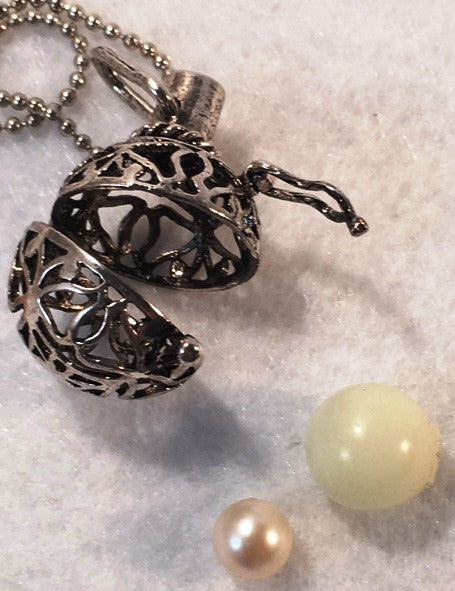 Fairy Wishing Charm°☆<BR>Pearl Cage ~ Sphere