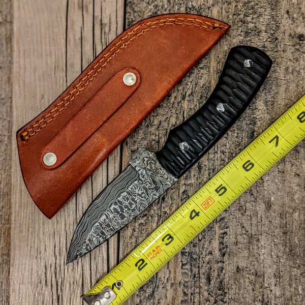 HTB-18 // Skinner // Grip Grinds on Micarta Handle // EDC // Hunt // All purpose