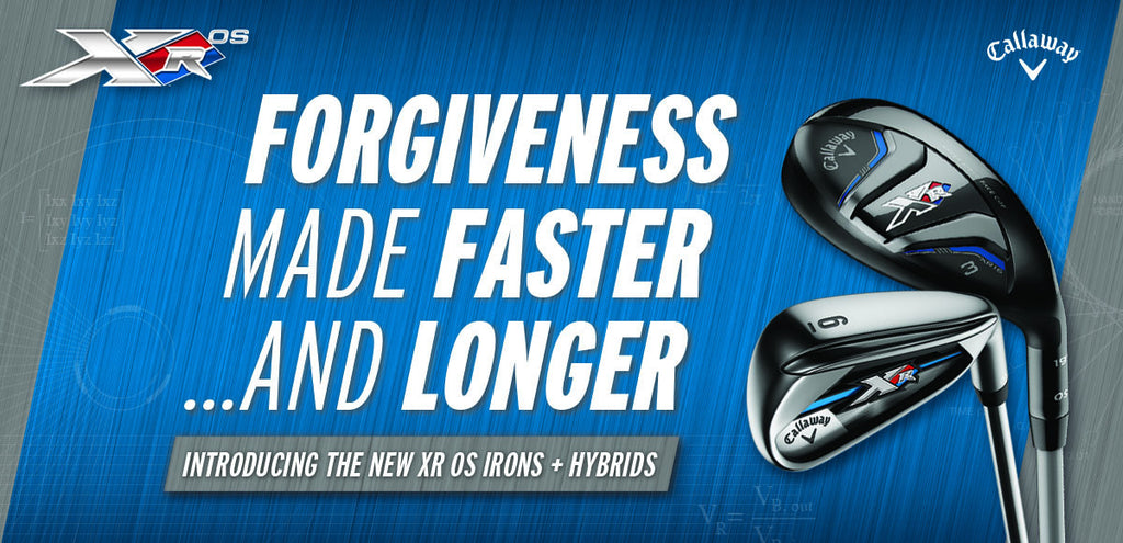 CALLAWAY LAUNCH NEW XR OS HYBRIDS & IRONS