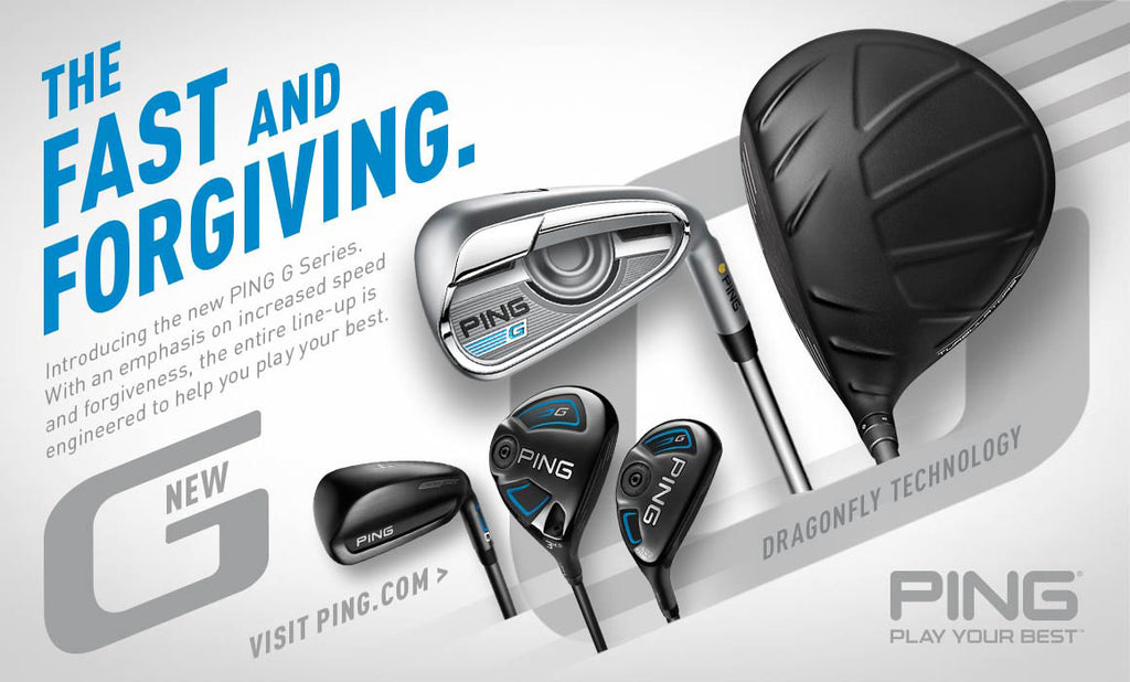 PING LAUNCHES NEW G SERIES