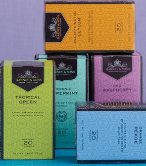 HARNEY & SONS PREMIUM BOXED TEA (20ct Box)