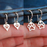 Paw Print Earrings (2 Unique Pairs)