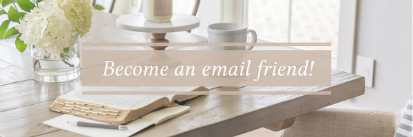 Become an email friend!