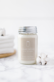 Clean Cotton 16oz Mason Jar Candle