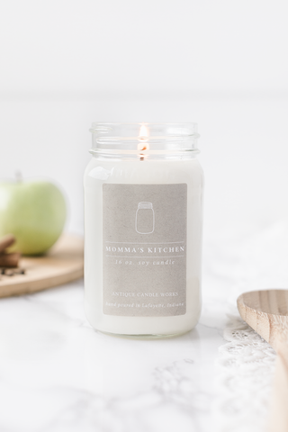 Momma's Kitchen 16oz Mason Jar Candle