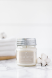 Clean Cotton 8oz Mason Jar Candle