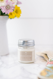 Wildflowers 8oz Mason Jar Candle