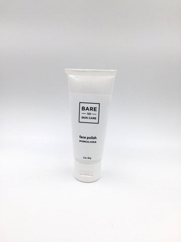 face polish: spherical scrub