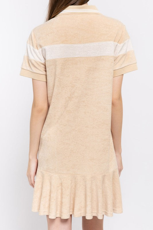 Terry Cloth Coverup 01373