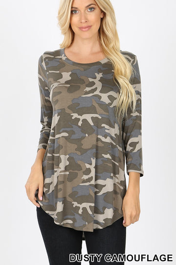 CAMOUFLAGE  TOP 02110