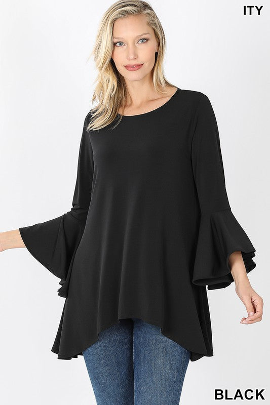 Bell Sleeve Top 02404
