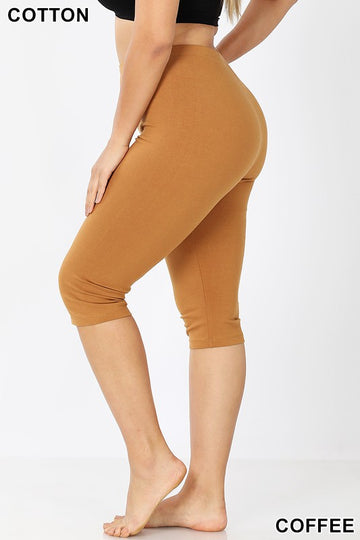 Cotton Capri Leggings 01766