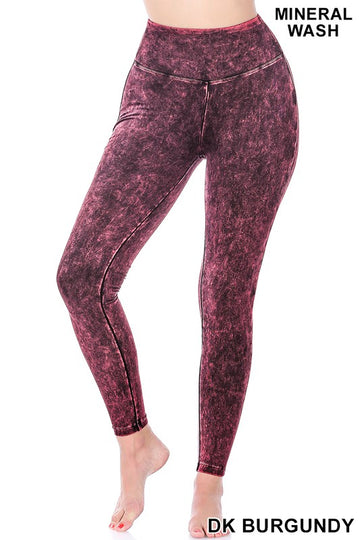 Mineral Wash Leggings 02791