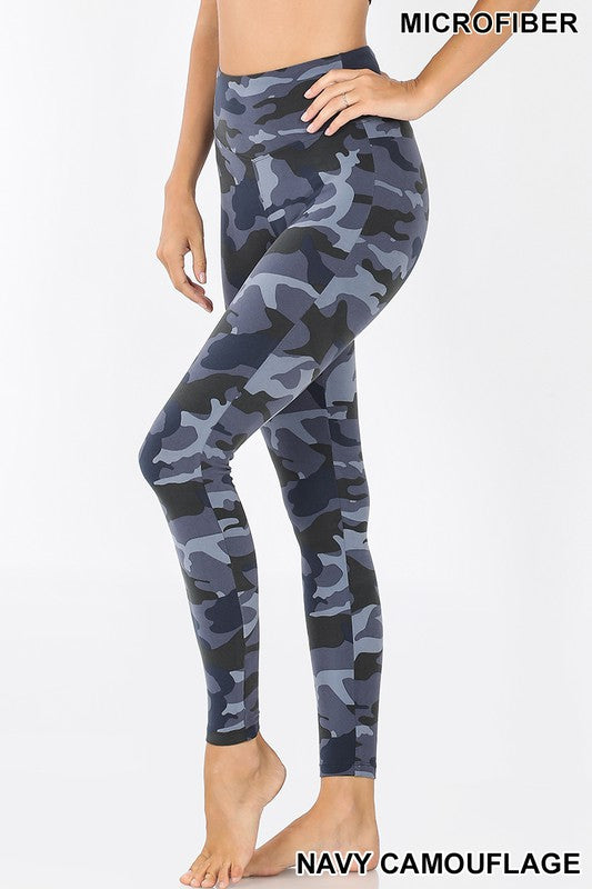 Camo Full Lengths Leggings 02800