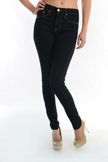 Dark Blue HIGH WAIST Skinny 00230
