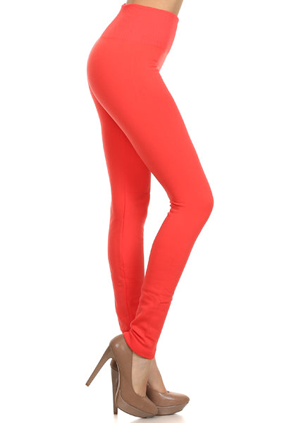 Fleece Inside Ankle Leggings 02302
