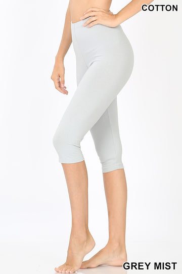 PREMIUM COTTON CAPRI LEGGINGS 01349