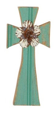 Metal Cross Decor 01998