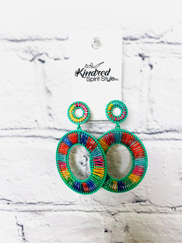 Colorful Earrings 01689