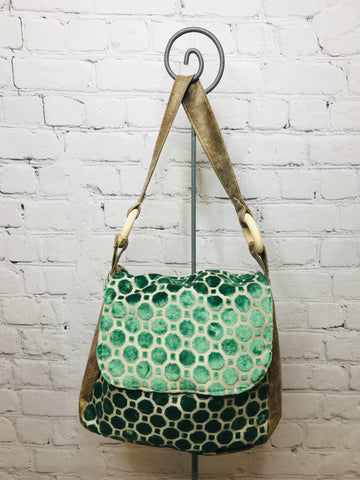 Turquoise Bubbles Oh Bag