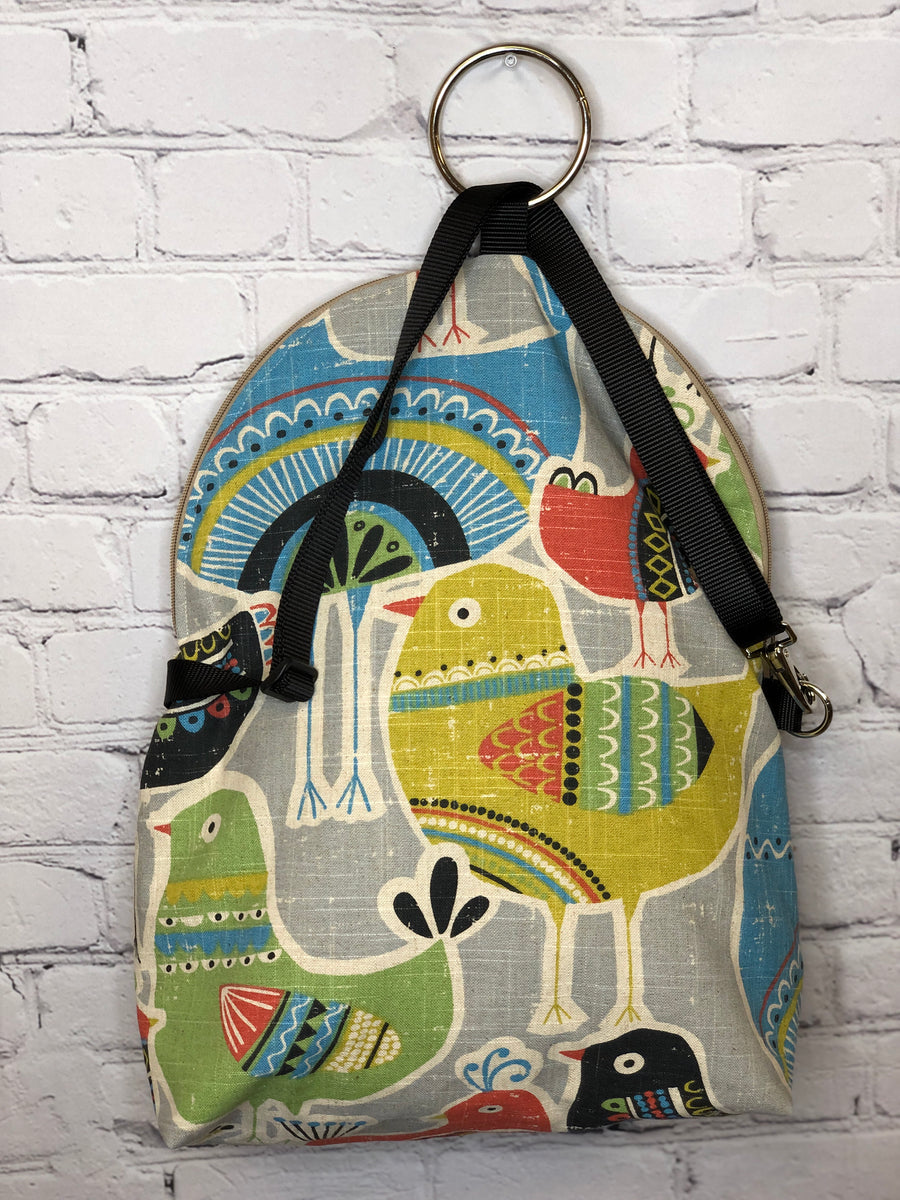 Bird Brain Messenger/Backpack