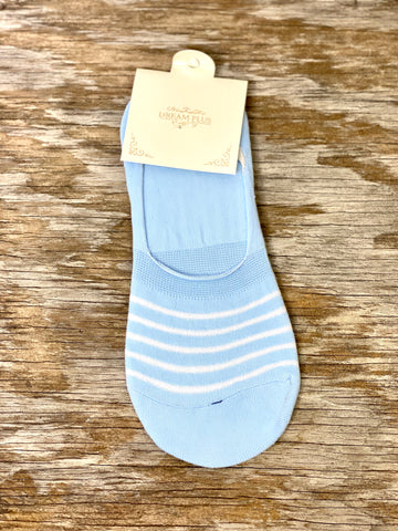 Striped No-Show Socks 01948