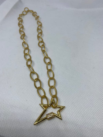 Lock Star Necklace 01861