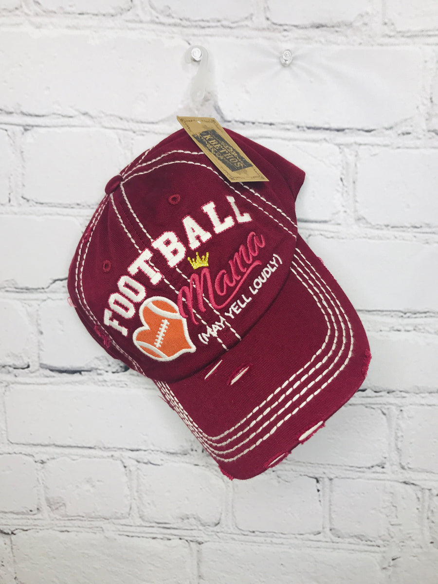 Football Mama Baseball Hat 01080