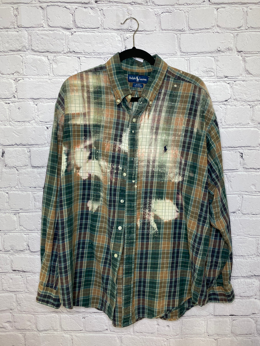 1X Bleached Flannel 02325