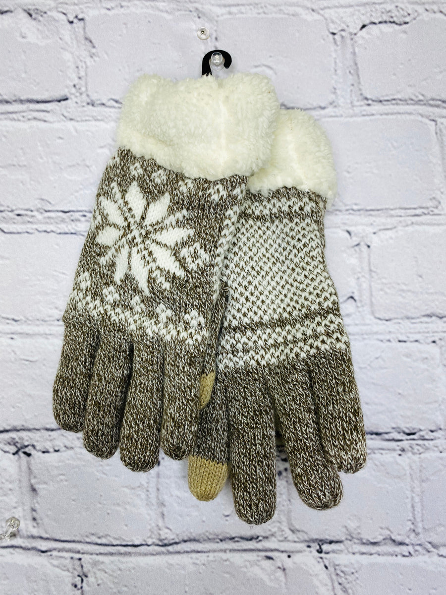Snowflake gloves 00997