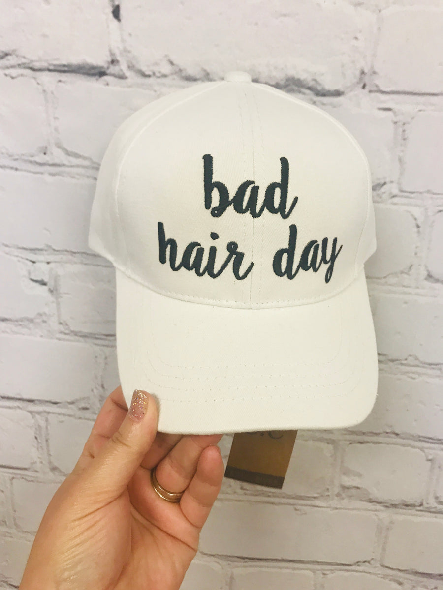 Bad Hair Day Baseball Cap 01375