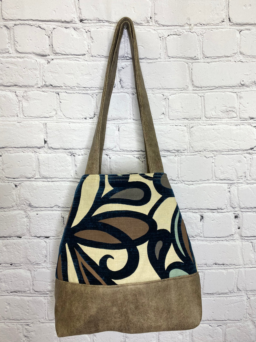 Saturday Morning NEW Button Tote