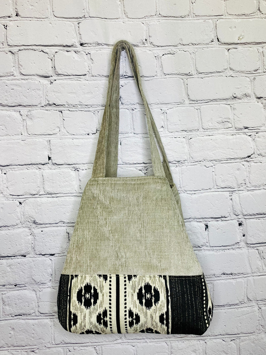 Urban Tribal NEW Button Tote