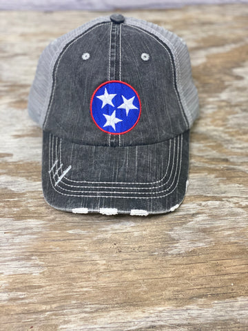 Tennessee Tri-Star Hat-01801