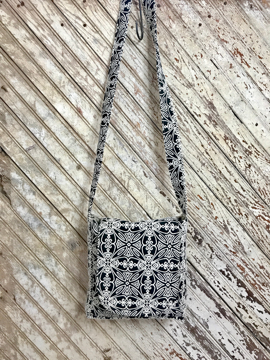 Salt and Pepper Saddle Bag