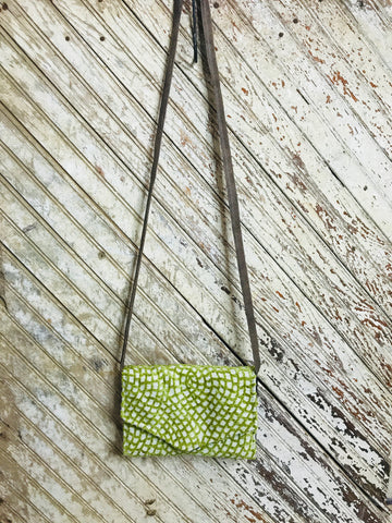 Sweet Moss Crossbody Wallet