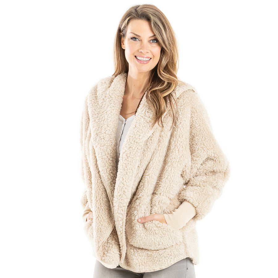 SHERPA BODY WRAP/CARDIGAN 02157