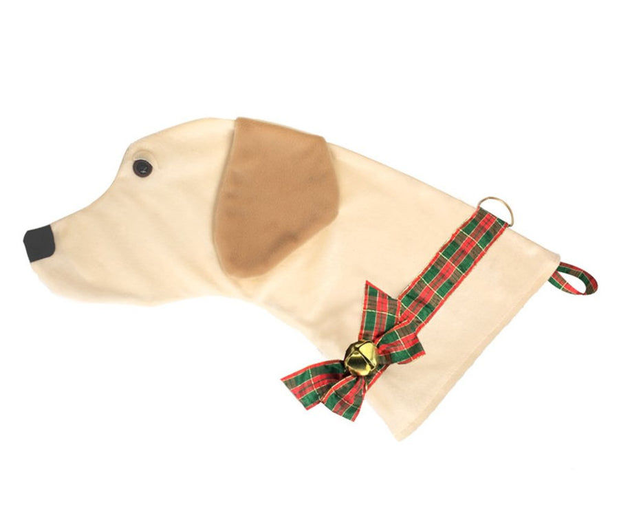 Yellow Lab Stocking 02093