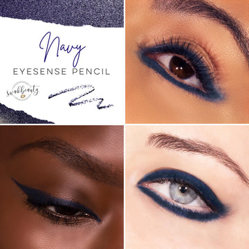 Navy Eyesense Long Lasting Eyeliner Pencil