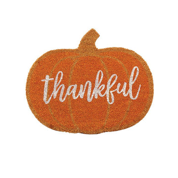 Thankful Pumpkin Doormat - 01772