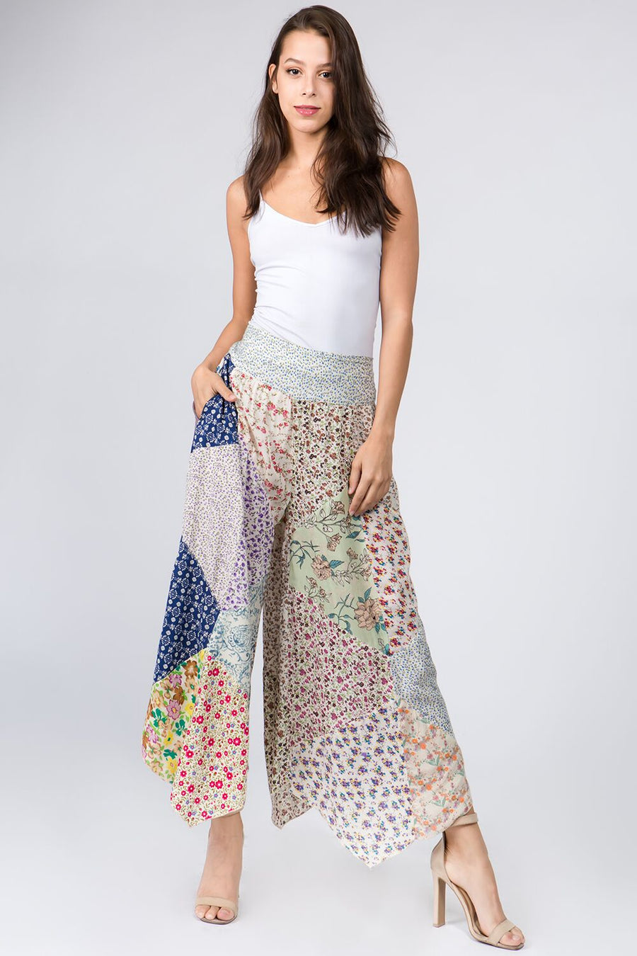 Patchwork Pants 01814