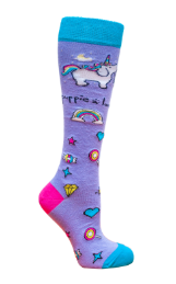 Puppie Love-Knee High Socks- 01652