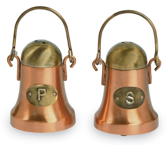 Copper Salt and Pepper Shaker Set- 01856